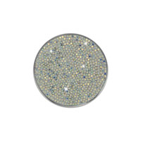 Přívěšek ze SWAROVSKI ELEMENTS ocel 40,4mm crystal ab
